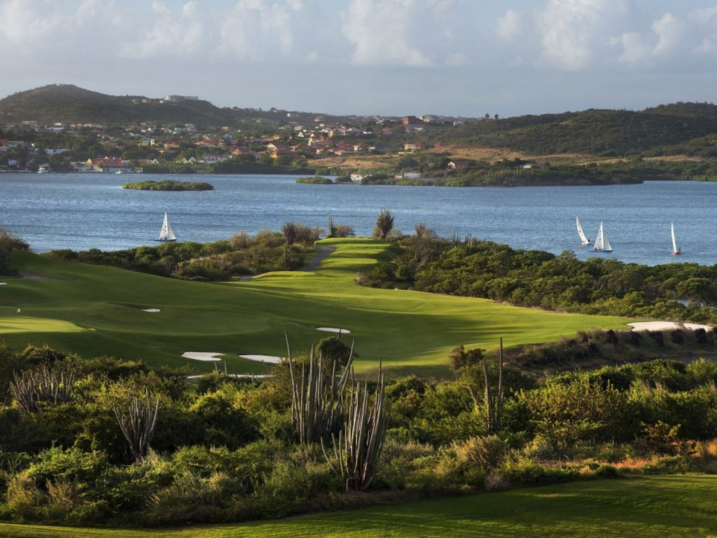 Play on the most beautiful golf course in the Caribbean