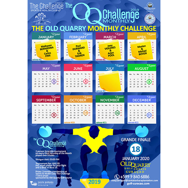 The OQ monthly challange 2019